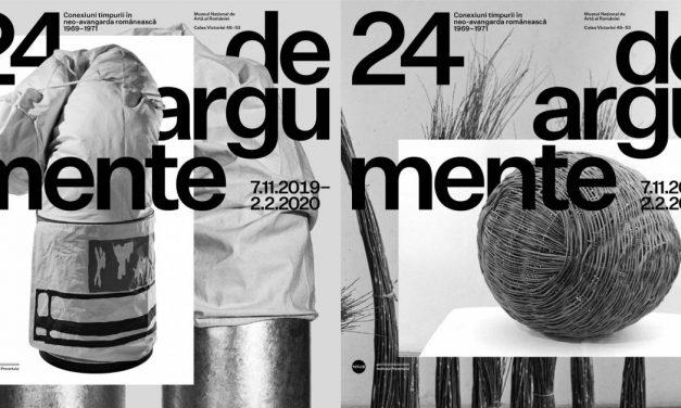 """Expoziție """"24 de argumente. Conexiuni timpurii în neo-avangarda românească 1969–1971"""" @ Muzeul Național de Artă al României"""