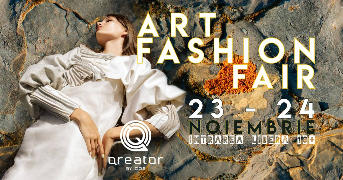 Art Fashion Fair #19 în Piața Victoriei, la Qreator