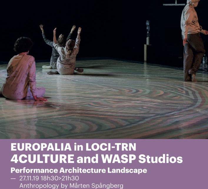 Performance, Architecture, Landscape @ Europalia Romania