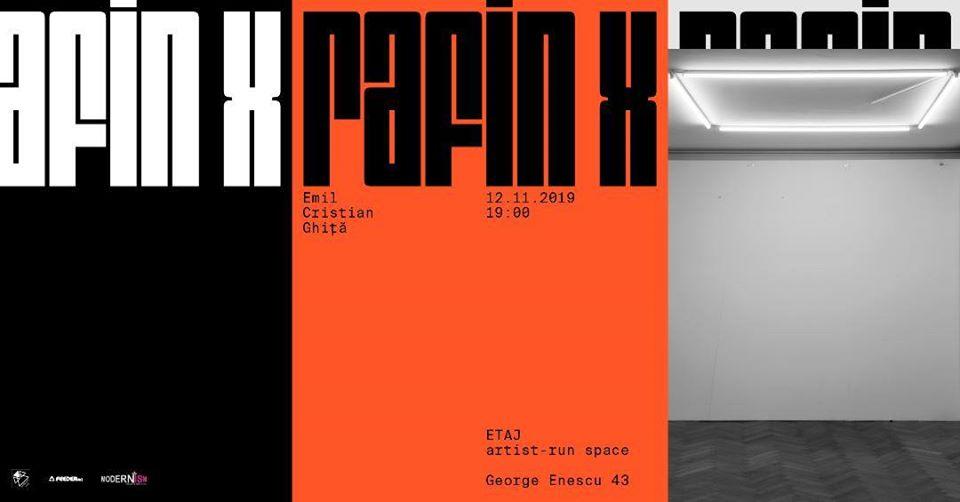 """Expoziție Emil Cristian Ghiță """"RafinX"""" @ E T A J artist-run space, București"""