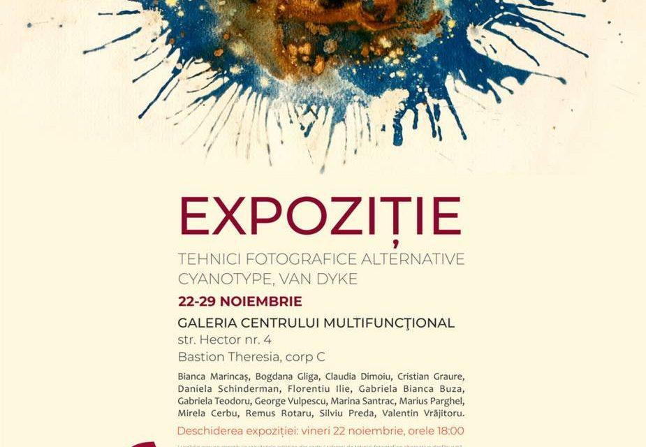 """Expoziție de fotografie """"alternativă"""" Cyanotype și Vandyke @ Galeria Centrului Multifuncţional Bastion, Timișoara"""
