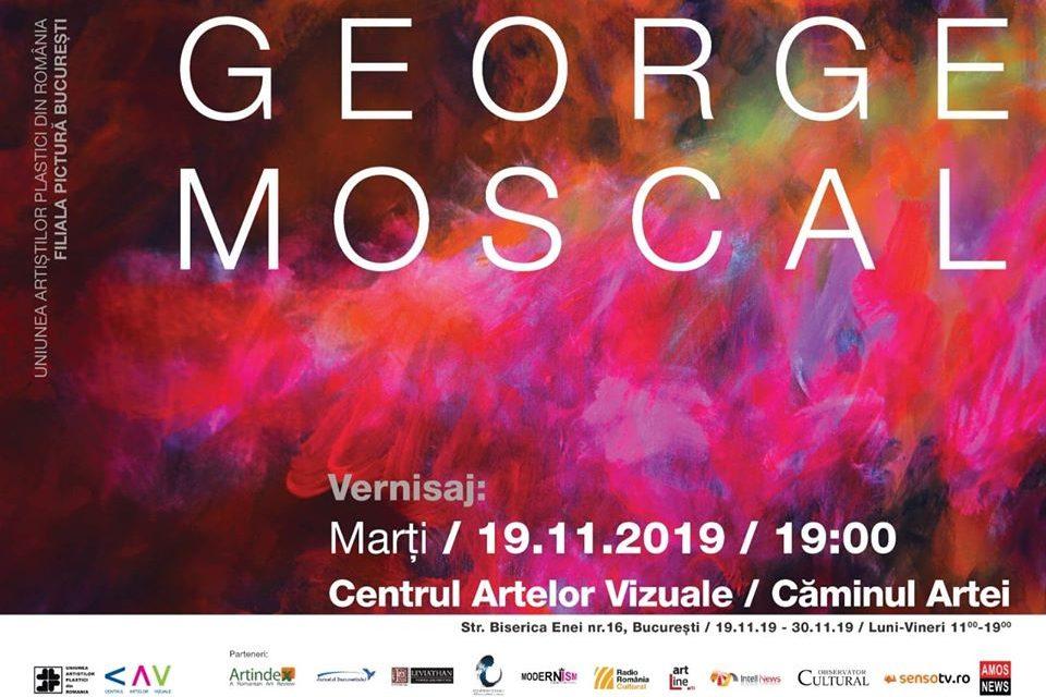 Expoziție personală George Moscal @ Centrul Artelor Vizuale/Căminul Artei, București