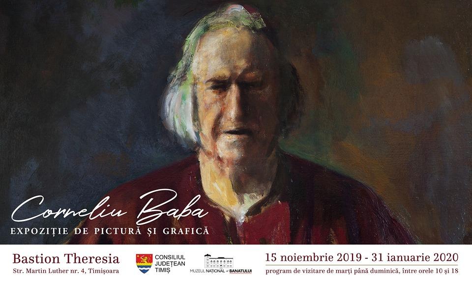 Expoziție retrospectivă Corneliu Baba @ Bastionul Theresia, Timișoara