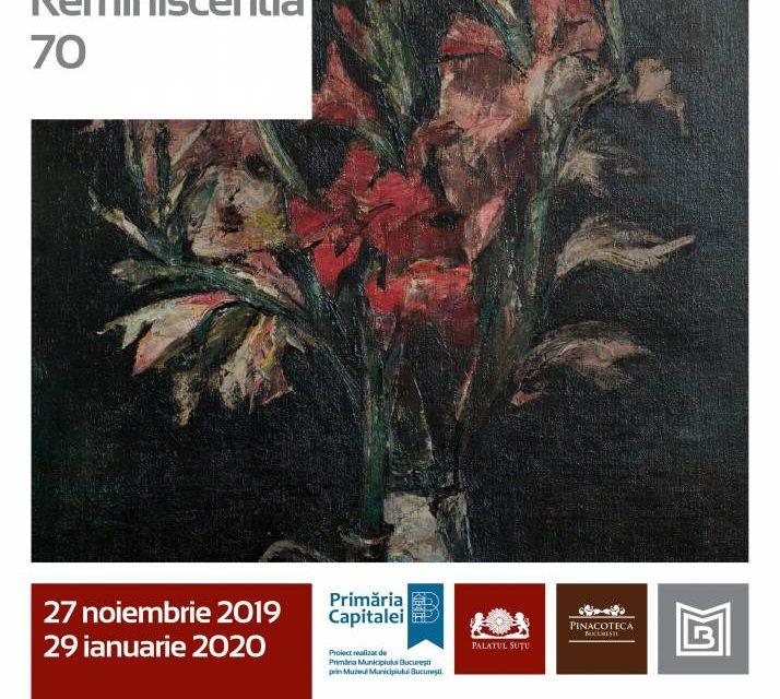 """Expoziție tematică """"Gheorghe Petrașcu – Reminiscentia 70"""" și lansarea catalogului """"Natură moartă, natură vie"""" @ Muzeul Municipiului București – Palatul Suțu"""