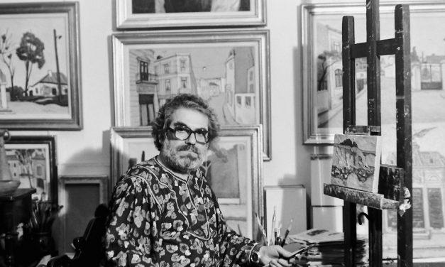 Pictorul Spiru Vergulescu, 1988