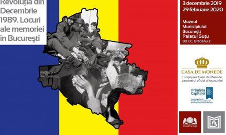 Revoluţia din Decembrie 1989. Locuri ale memoriei în București @  Muzeul Municipiului Bucureşti – Palatul Suțu