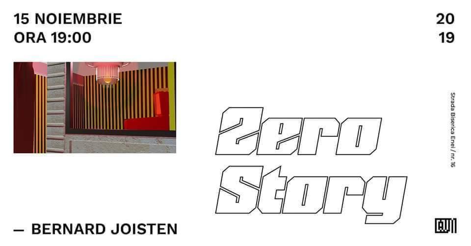 "Solo show Bernard Joisten, ""Zero Story"" @ Centrul Artelor Vizuale Multimedia"