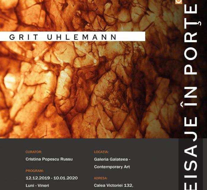 """""""Peisaje în porțelan"""" – solo show Grit Uhlemann, Germania @ Galateea Contemporary Art, București"""