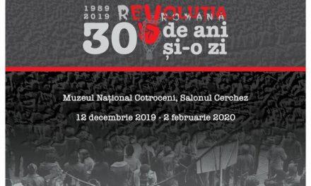 """""""30 de ani și o zi"""" proiect dedicat Revoluției române din decembrie 1989 @ Muzeul Național Cotroceni"""