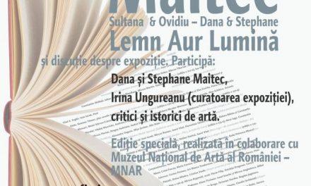 Ediţie specială Maitec a Cafenelei critice, la MNAR