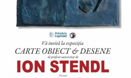Expoziție Ion STENDL la Muzeul Național al Literaturii Române