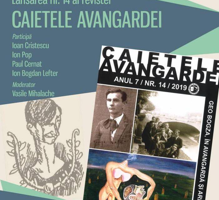 Lansare a unui nou număr  din Caietele Avangardei nr.14/2019