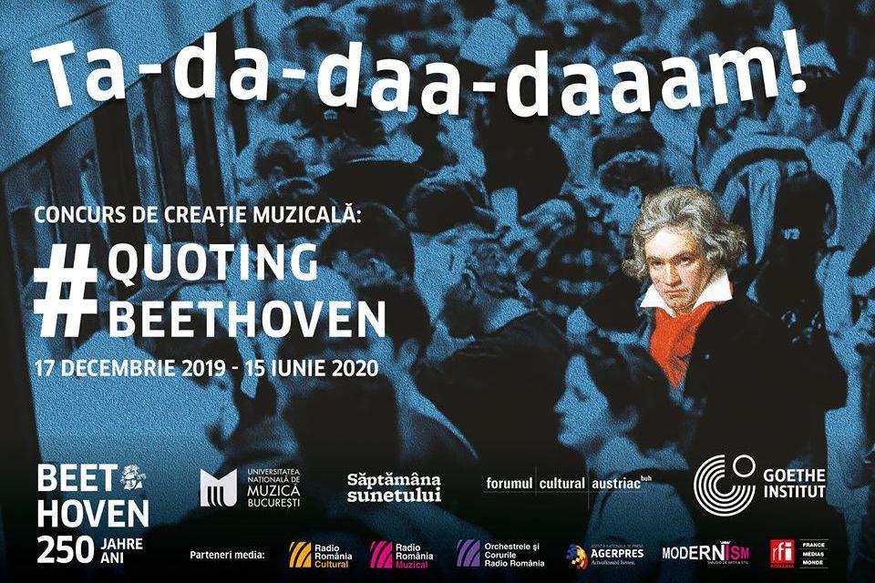 Quoting Beethoven – concurs de creație muzicală