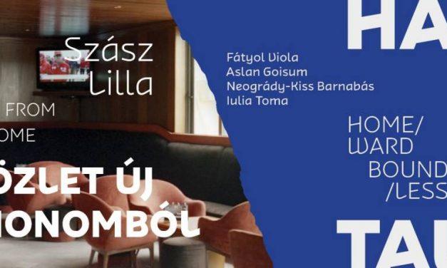 "Lucrări ale artistei Iulia Toma la expoziția ""Home/ward Bound/less"" a Galeriei Budapesta"
