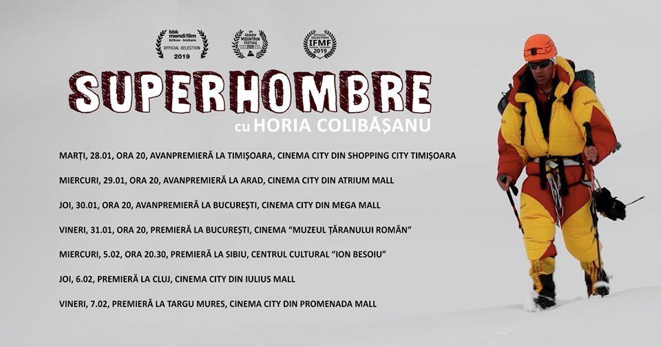 """Documentarul independent """"Superhombre"""" @ Cinema Muzeul Taranului"""