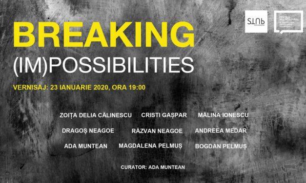 Breaking (Im)possibilities   Expoziție de grup @ Centrul Multicultural al Universității Transilvania din Brașov
