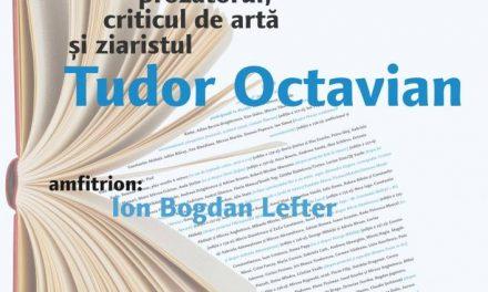 Prozatorul, criticul de artă şi ziaristul Tudor Octavian la Cafeneaua critică!