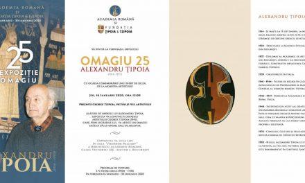"Expoziție ""Omagiu 25 Alexandru Țipoia"" @ Biblioteca Academiei Române"