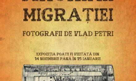 """Expoziție Vlad Petri, ,,Anonimii Migrației"""" @ Galeria de Artă ,,Ioan Sima"""", Zalău"""