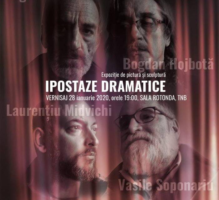 """Expoziția """"Ipostaze dramatice"""" @ sala Rotonda a Teatrului Național """"I.L. Caragiale"""" București"""