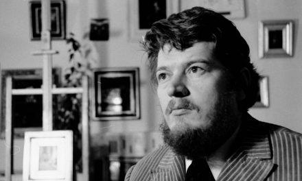 Pictorul Semproniu Iclozan în 1972