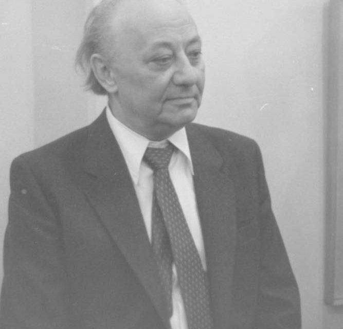 Plasticianul Gheorghe Tofan, gravură pe aluminiu, 1986