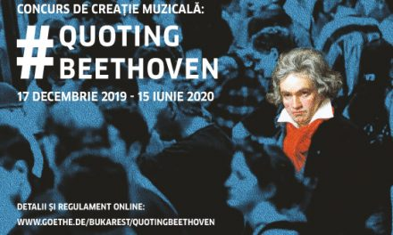 Quoting Beethoven, concurs de creație muzicală, apel la candidaturi