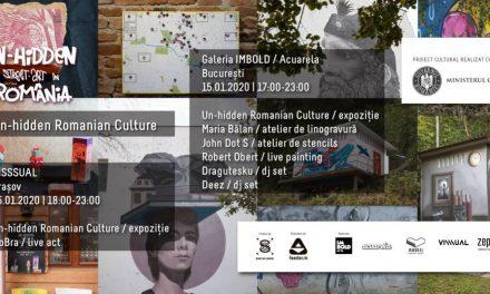 Proiectul Un-hidden Romanian Culture – expoziții, ateliere și muzică electronică în București și Brașov