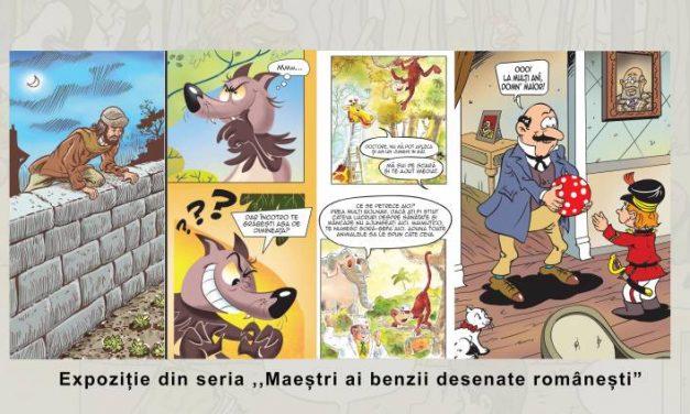 """Expoziția""""Benzi Desenate de Șerban Andreescu"""" @ Muzeul Municipiului București – Casa Filipescu-Cesianu"""