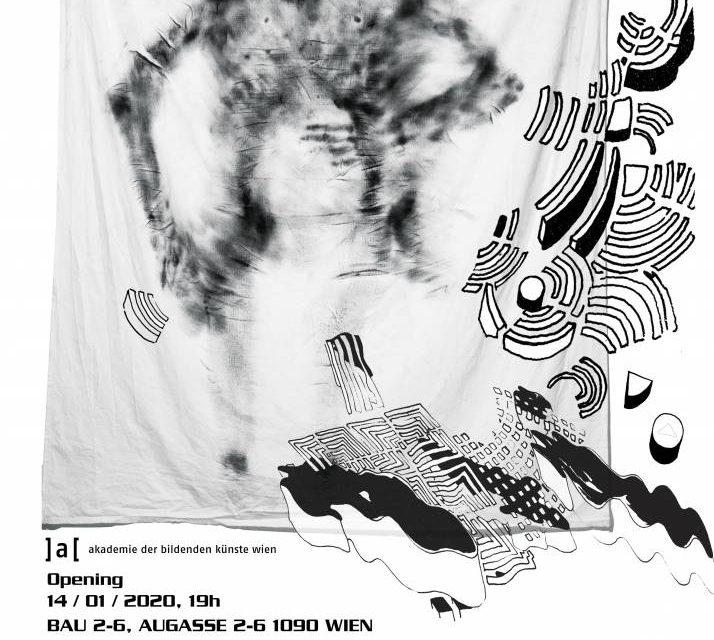 line / shape / transformation: student exhibition @ Academy of Fine Arts Vienna