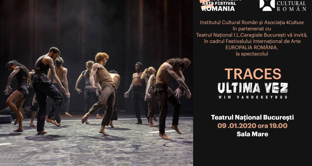TRACES dans contemporan Ultima Vez/Wim Vandekeybus la Teatrul Național București