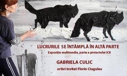 Lucrurile se întâmplă în altă parte – Gabriela Culic @ ARCUB