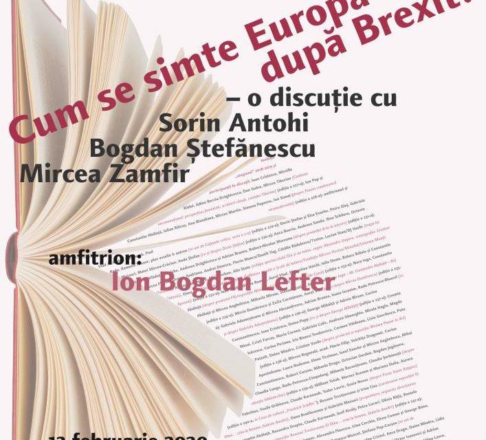 Europa după Brexit – la Cafeneaua critică!