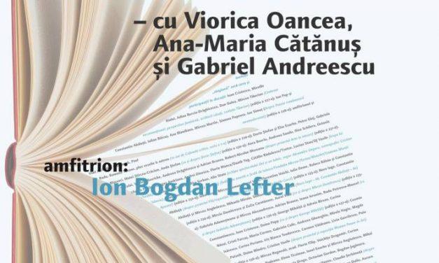 Despre viaţa şi dizidenţa lui Mihai Botez la Cafeneaua critică, la MNLR