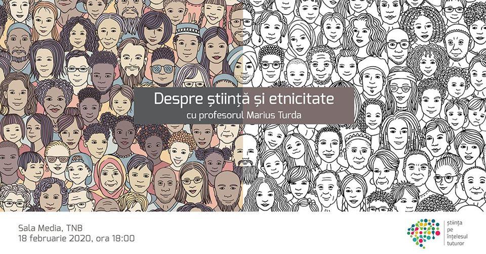 Despre știință și #etnicitate cu profesorul Marius Turda @ Sala Media a Teatrului Național București