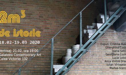 Expoziţia2m³ de istorie@ Galeria Galateea Contemporary Art