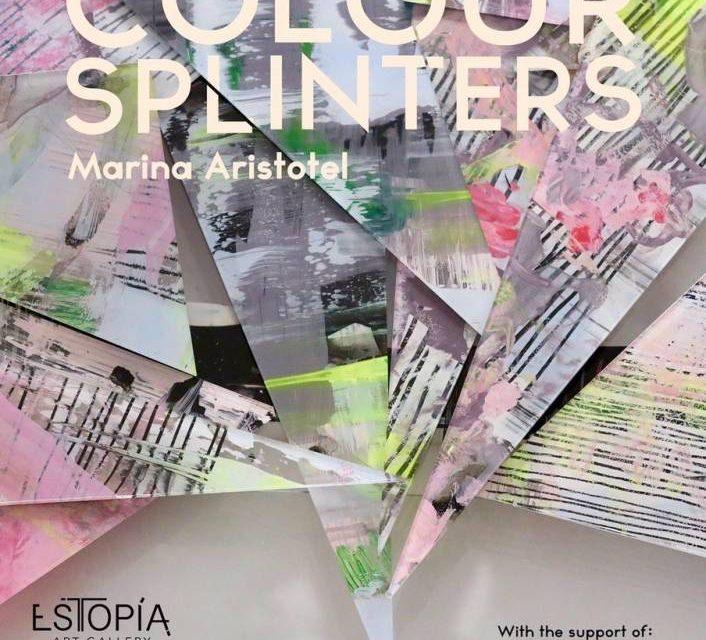 "Expoziția ""Colour Splinters"" a Marinei Aristotel @ Estopia Art Gallery, Lugano"