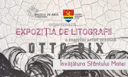 Expoziție Otto Dix – Învățătura Sfântului Matei @ Muzeul de Artă Timișoara – Palatul Baroc