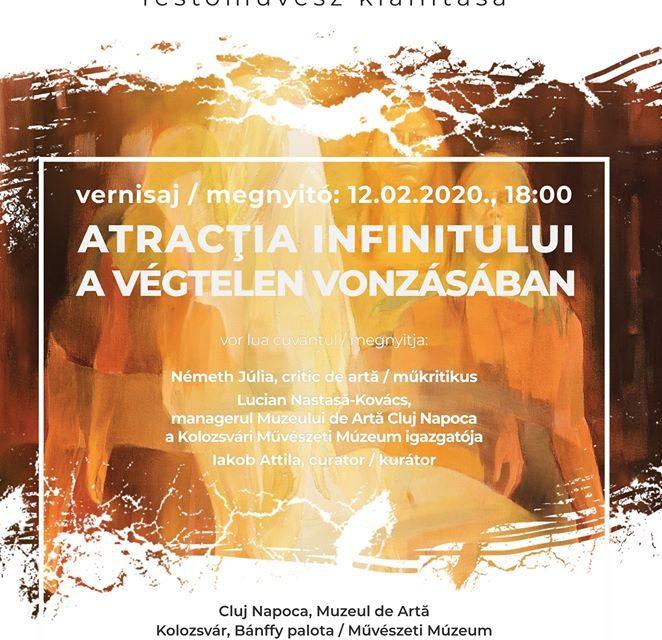 """Expoziție Xantus Géza """"Atracția Infinitului"""" @ Muzeul de Artă Cluj-Napoca"""