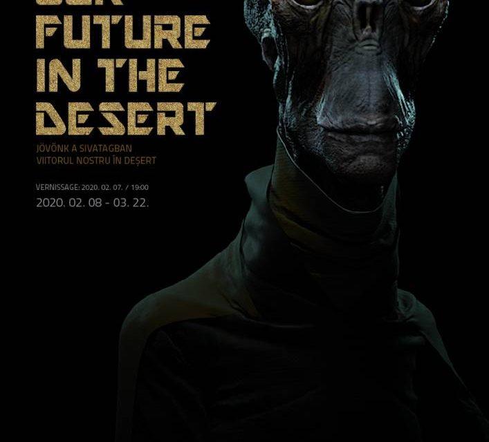 """Expoziție András Cséfalvay """"Viitorul nostru în deșert"""" @ Spațiul Expozițional de Artă Contemporană MAGMA, Sfântu Gheorghe"""