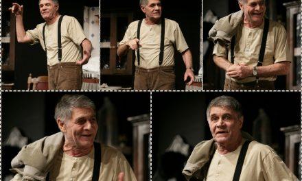 """Expoziție de fotografie """"George Motoi – Sub masca actorului"""" @ Teatrul Naţional Bucureşti"""