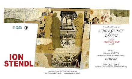 Finisaj expoziție ION STENDL la Muzeul Național al Literaturii Române