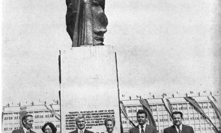 Gabriela Manole Adoc și Gheorghe Adoc, Monumentul Independenței din Iași, 1980