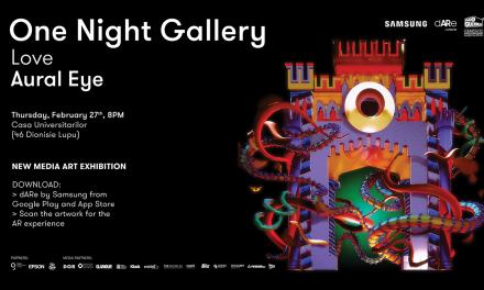 One Night Gallery #13 LOVE Aural Eye