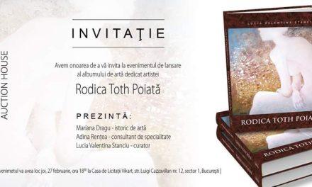Lansarea albumului de artă Rodica Toth Poiată @ Casa de Licitații VikArt, București