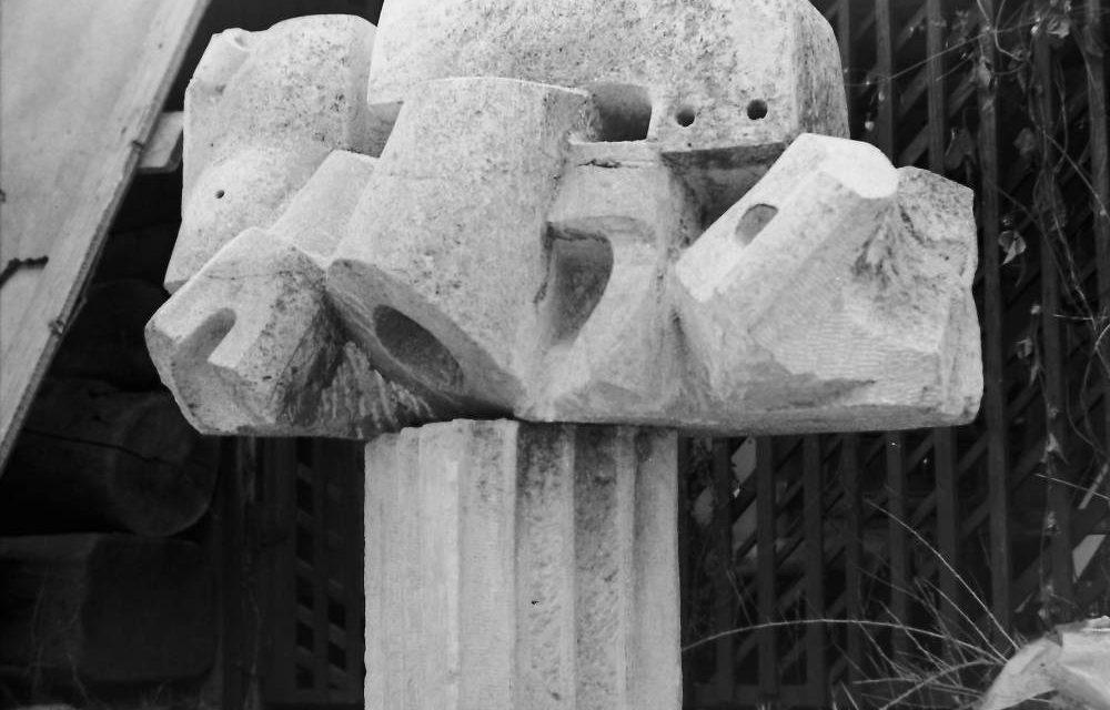 Sculptorița Maria Cocea, 1971