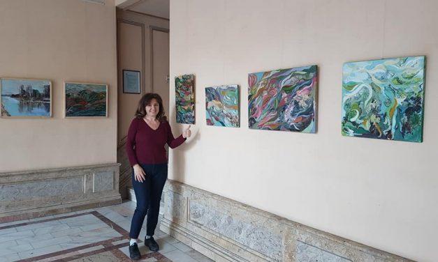 """Expoziția de Pictură """"Sidef"""" – Delia Budurcă @ Cercul Militar Național – Sala Foaier"""