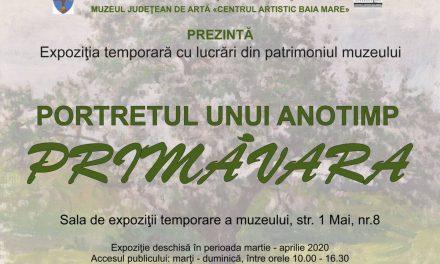 """Expoziție temporară """"Primăvara, portretul unui anotimp"""" la Muzeul Judeţean de Artă «Centrul Artistic Baia Mare»"""