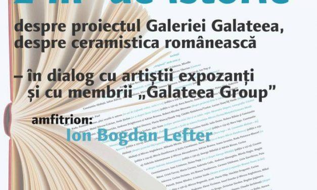 Cafeneaua critică la Galateea, despre Galateea şi despre ceramistica românească!