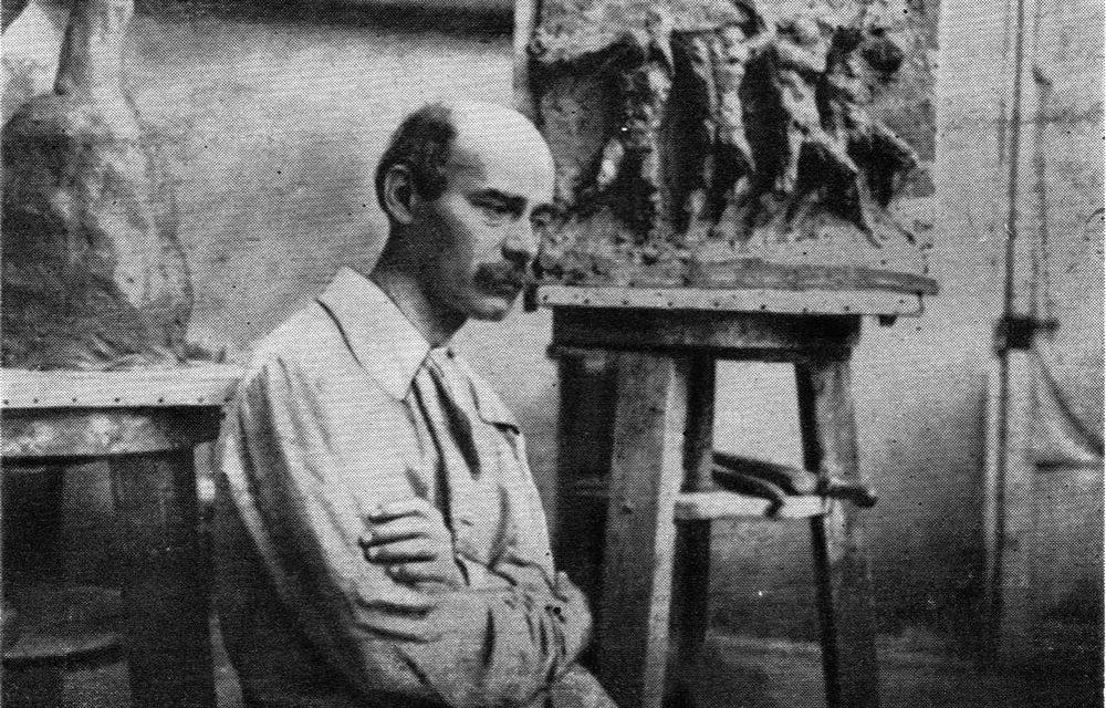 Dimitrie Paciurea în atelier